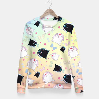 Thumbnail image of Anime Tsubasa RESERVoir CHRoNiCLE Pattern Fitted Waist Sweater, Live Heroes