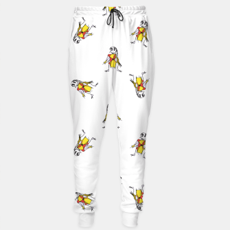 Thumbnail image of Scarecrows Pattern Design Sweatpants, Live Heroes
