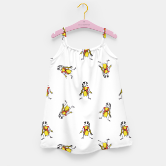 Thumbnail image of Scarecrows Pattern Design Girl's Dress, Live Heroes