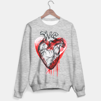 Miniature de image de Human Heart Sweater regular, Live Heroes