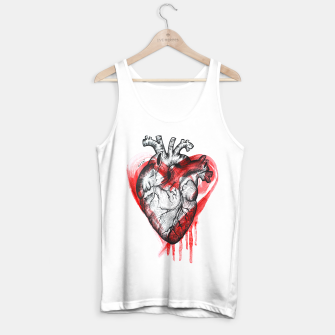 Miniature de image de Human Heart Tank Top regular, Live Heroes