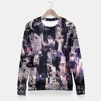 Thumbnail image of Space City Fitted Waist Sweater, Live Heroes