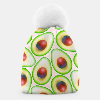 Thumbnail image of Avocado pattern Beanie, Live Heroes