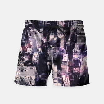 Thumbnail image of Space City Swim Shorts, Live Heroes