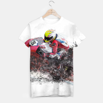 Thumbnail image of Motorcycle Art T-Shirt, Live Heroes