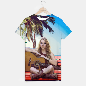 Thumbnail image of Music Girly T-Shirt, Live Heroes
