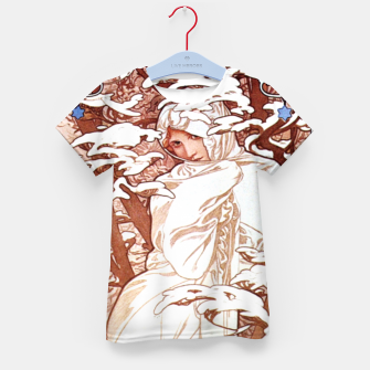 Thumbnail image of Winter AM50 Kid's T-shirt, Live Heroes