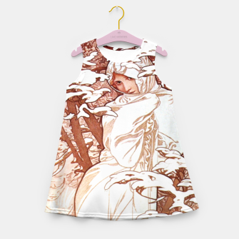 Thumbnail image of Winter AM50 Girl's Summer Dress, Live Heroes