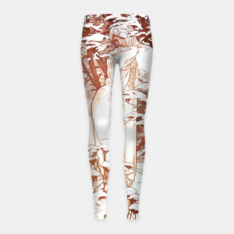 Thumbnail image of Winter AM50 Girl's Leggings, Live Heroes