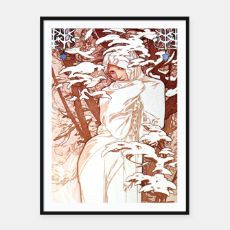 Thumbnail image of Winter AM50 Framed poster, Live Heroes