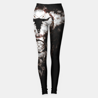 Dreamcatcher - Pentagram Leggings Bild der Miniatur