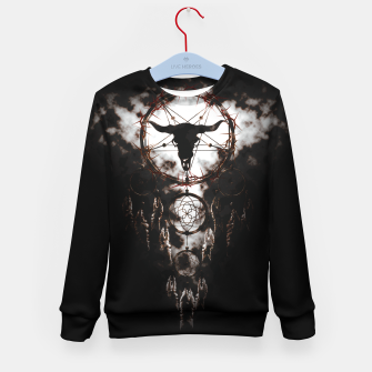Dreamcatcher - Pentagram Kid's Sweater Bild der Miniatur