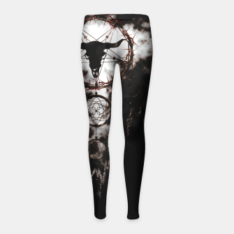 Miniatur Dreamcatcher - Pentagram Girl's Leggings, Live Heroes