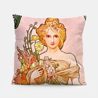 Thumbnail image of Summer Garden AM40 Pillow, Live Heroes