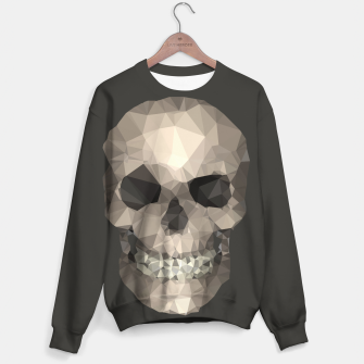 Thumbnail image of Polygons Skull Sweater, Live Heroes