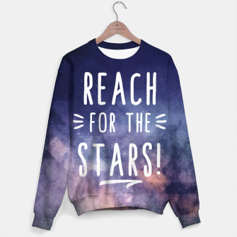 Thumbnail image of Reach for the Stars Sweatshirt, Live Heroes