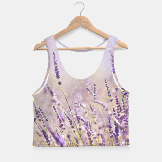 Thumbnail image of Lavender Crop Top, Live Heroes