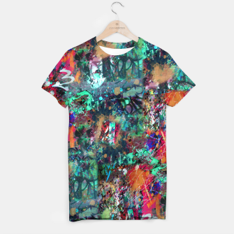 Thumbnail image of Graffiti and Splatter  T-shirt, Live Heroes