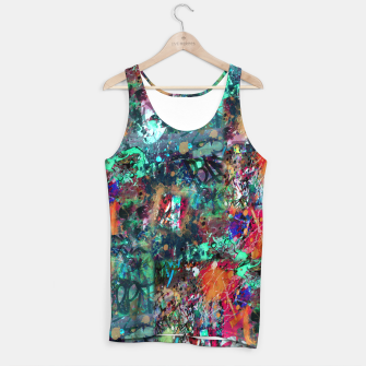 Thumbnail image of Graffiti and Splatter  Tank Top, Live Heroes