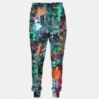 Thumbnail image of Graffiti and Splatter  Sweatpants, Live Heroes