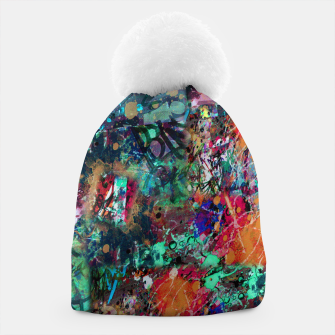 Thumbnail image of Graffiti and Splatter  Beanie, Live Heroes