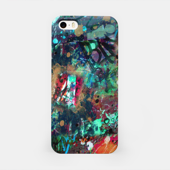 Thumbnail image of Graffiti and Splatter  iPhone Case, Live Heroes