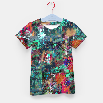 Thumbnail image of Graffiti and Splatter  Kid's T-shirt, Live Heroes