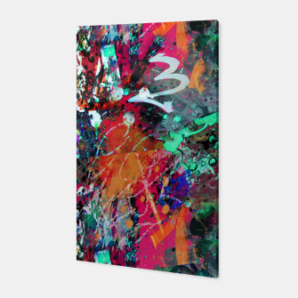 Thumbnail image of Graffiti and Splatter  Canvas, Live Heroes