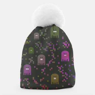 Thumbnail image of Pac Video Game Men Beanie, Live Heroes