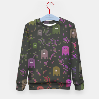 Thumbnail image of Pac Video Game Men Kid's Sweater, Live Heroes