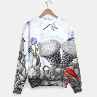 Thumbnail image of THE VISITORS Sweater, Live Heroes
