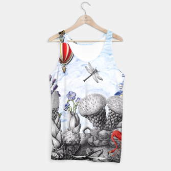 Thumbnail image of THE VISITORS Tank Top, Live Heroes