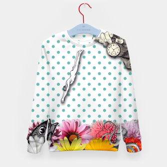 Thumbnail image of THE SWIMMING POOL Kid's Sweater, Live Heroes