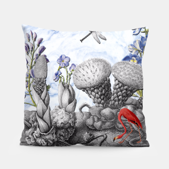 Thumbnail image of THE VISITORS Pillow, Live Heroes
