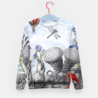 Thumbnail image of THE VISITORS Kid's Sweater, Live Heroes