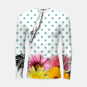 Thumbnail image of THE SWIMMING POOL Longsleeve Rashguard , Live Heroes