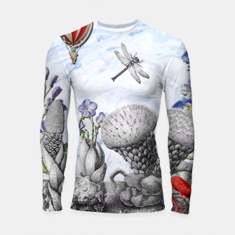 Thumbnail image of THE VISITORS Longsleeve Rashguard , Live Heroes