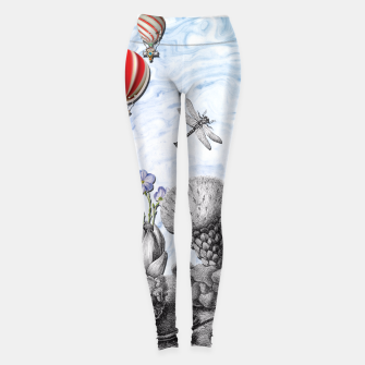 Thumbnail image of THE VISITORS Leggings, Live Heroes