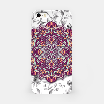 Thumbnail image of FLORAL MANDALA iPhone Case, Live Heroes