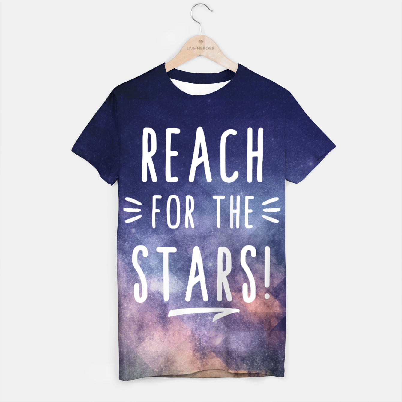 Image of Reach for the Stars T-Shirt - Live Heroes
