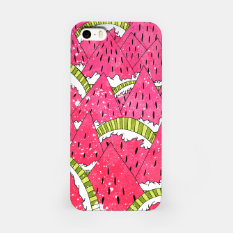 Miniatur Watermelon Mounts iPhone Case, Live Heroes