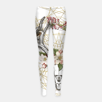 BOHO SKULL Girl's Leggings thumbnail image