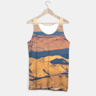 Thumbnail image of Andes Mountains Desert Aerial Landscape Scene Tank Top, Live Heroes