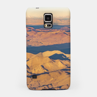 Thumbnail image of Andes Mountains Desert Aerial Landscape Scene Samsung Case, Live Heroes