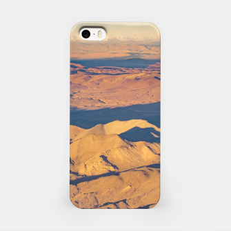 Thumbnail image of Andes Mountains Desert Aerial Landscape Scene iPhone Case, Live Heroes
