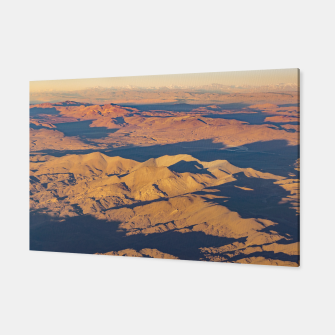 Thumbnail image of Andes Mountains Desert Aerial Landscape Scene Canvas, Live Heroes