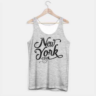 Thumbnail image of New York City typography Tank Top regular, Live Heroes