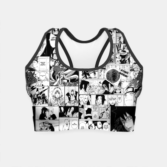Thumbnail image of The way of the Ninja Crop Top, Live Heroes