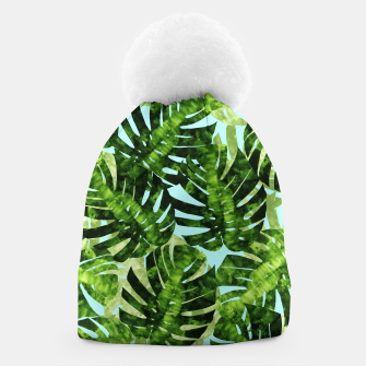 Thumbnail image of Tropical watercolor Beanie, Live Heroes