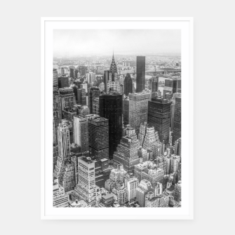 Miniaturka New York City Manhattan Framed poster, Live Heroes